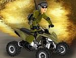 لعبة دراجة الجيش